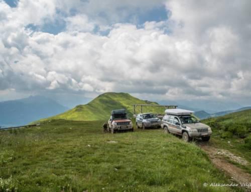 Impressionen der Offroad Tour in Montenegro 2018